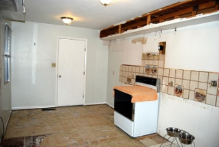 using salvaged materials can save you money in your kitchen remodel