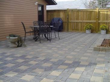 Interlocking Brick Patio