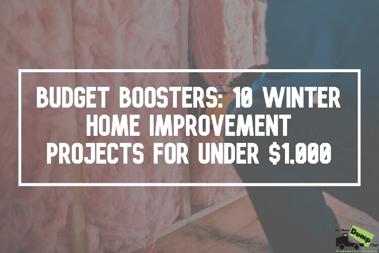 10 Winter Home Improvement Projects for Under $