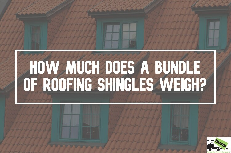 How Much Does a Bundle of Roofing Shingles Weigh?
